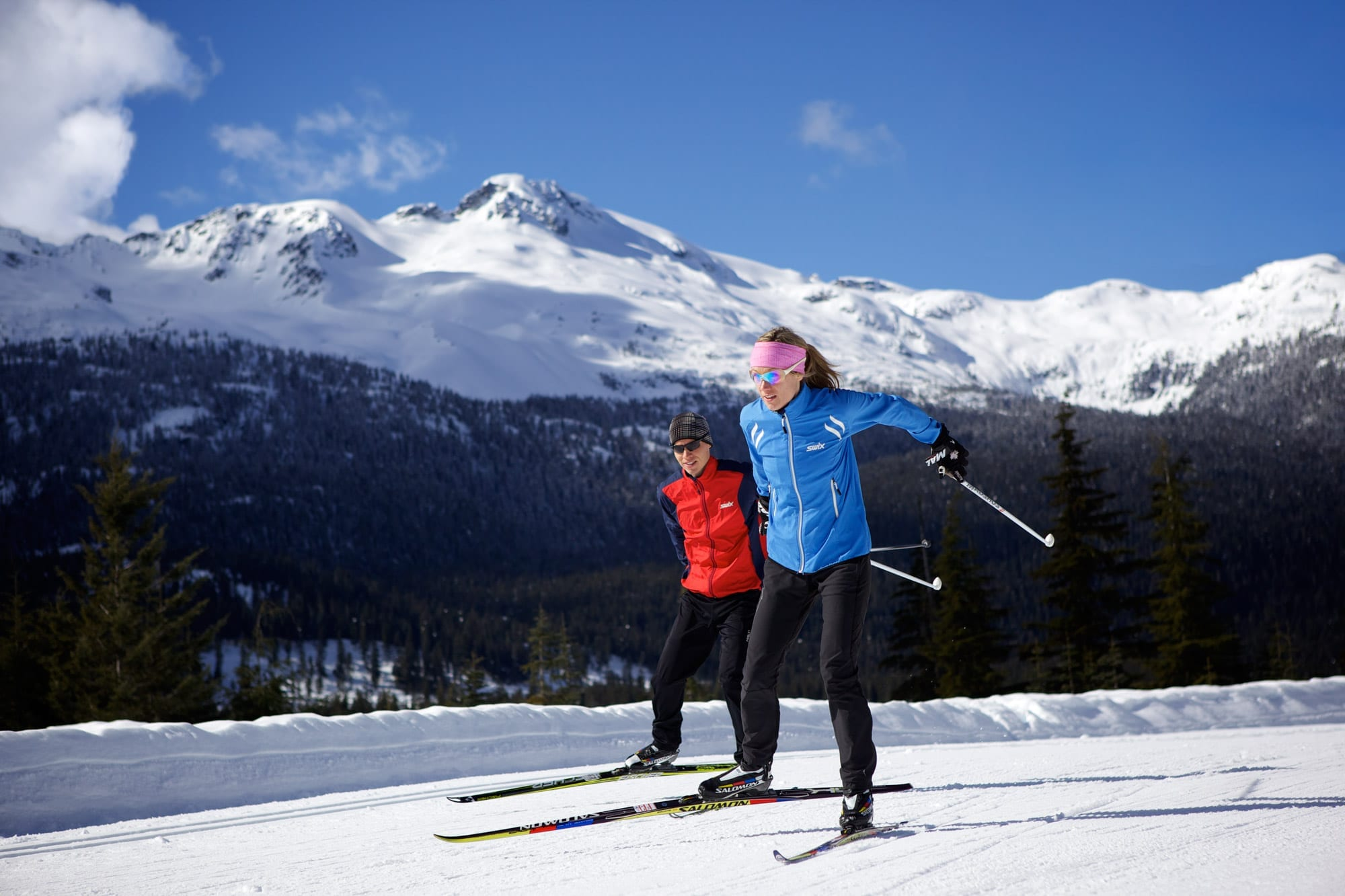 Cross Country Skiing Courses Trails Whistler Canada