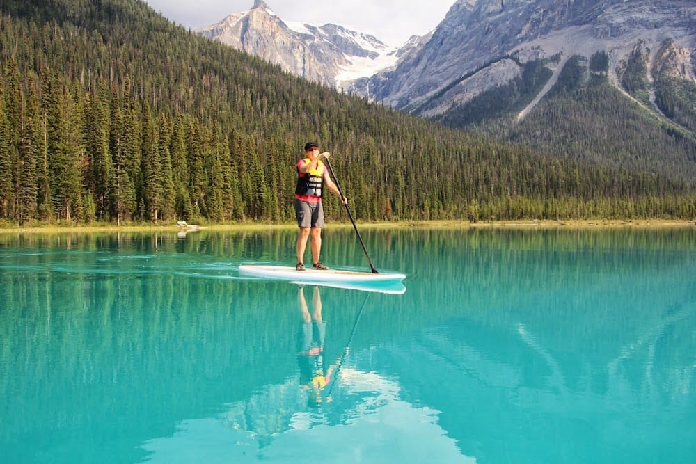 Stand Up Paddle Boarding Sup Tours Whistler Canada
