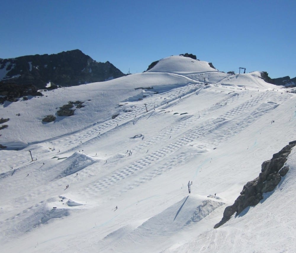 how to get to blackcomb glacier