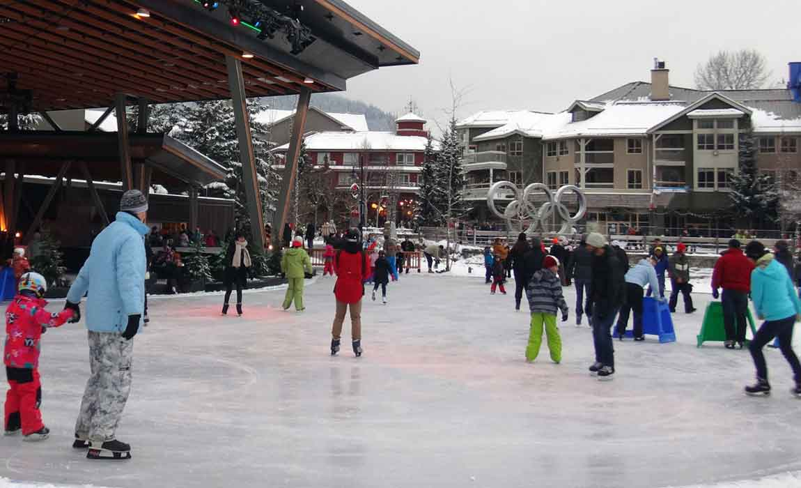 Whistler Ice Skating