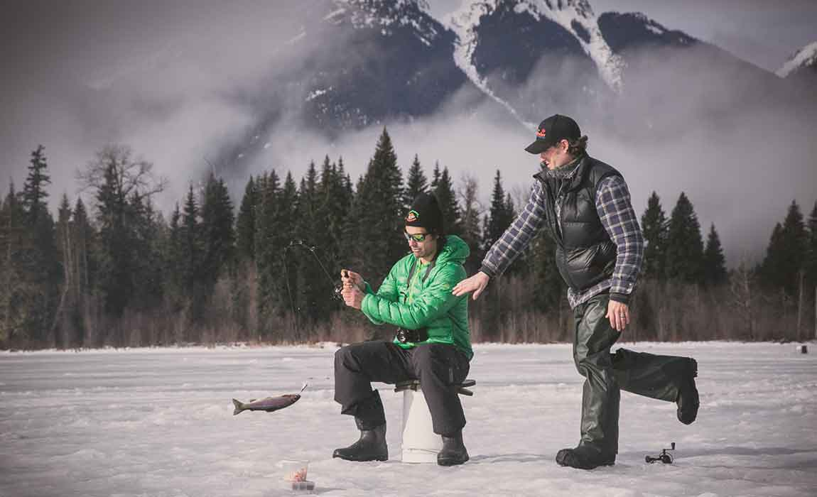 Whistler Ice Fishing