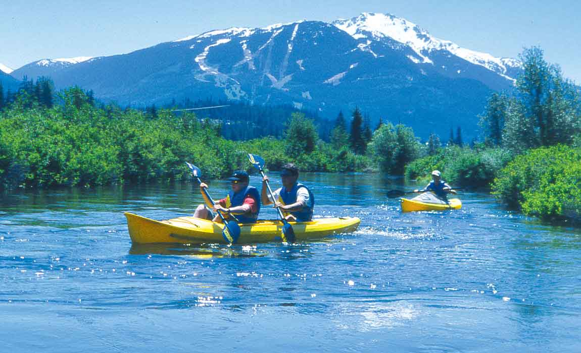 Whistler Kayaking Tours