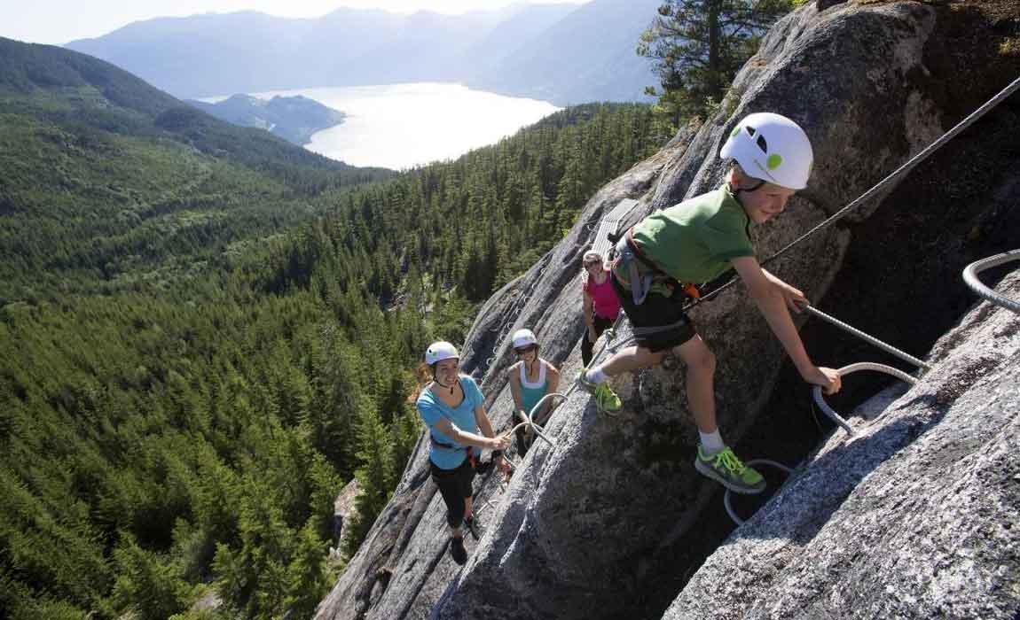 Whistler Rock Climbing Tours