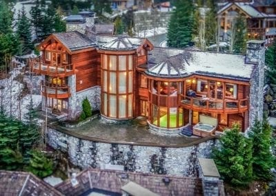 Exterior Views - The Villa, Whistler, BC - Luxury Retreats