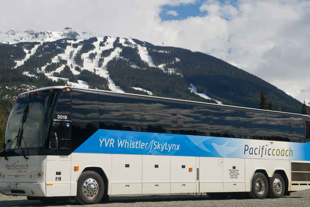 Airport Shuttle Bus Service Whistler Luxury Chalets